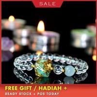 Orgonite Eliminate Eegative Energy Natural Energy Crystal Chamilia Bracelet Energy Converter Reiki Jewelry Women's Bracelet