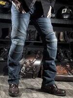 Mens Black Biker Jeans Motocycle Denim Pants Male Stretch Original Trousers Off road Pants Protection Clothing Xxxxl Plus Size