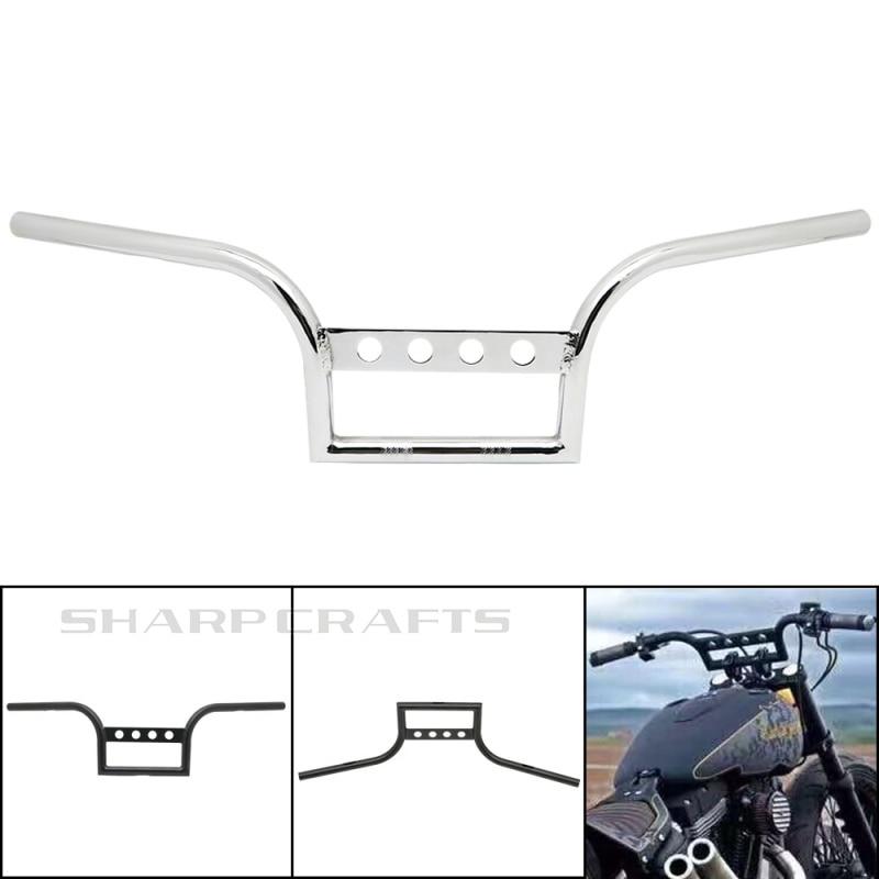 Motorcycle 1 25mm Drag Handlebar Handle Bar For Harley Sportster XL883 XL1200 Dyna FLD Softail FLST