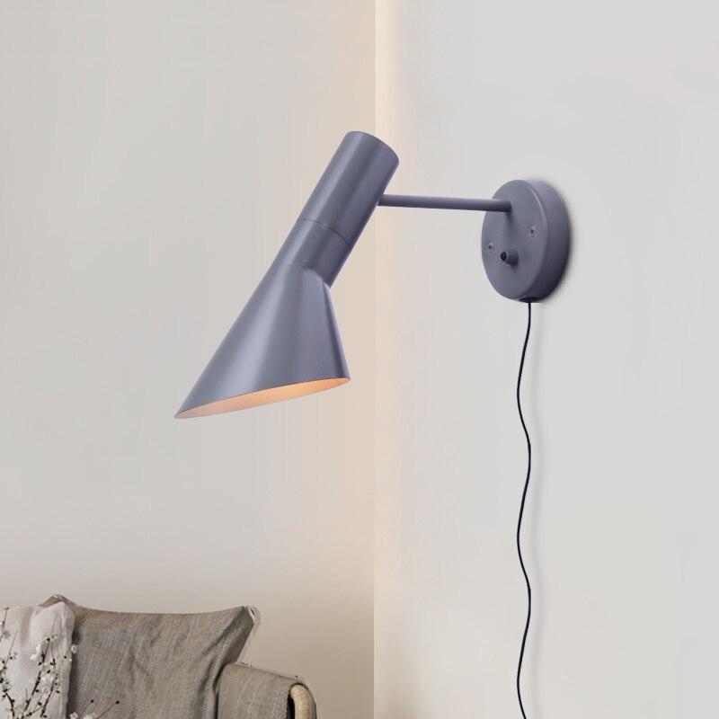 Chambre applique Design moderne applique murale réplique créative salon lampes murales moderne applique 1 lumière