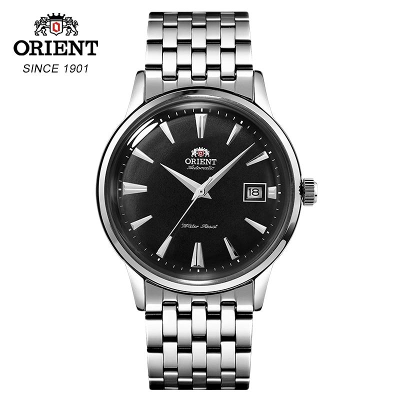Originele ORIENT heren Horloge Classic Automatische Mechanische Horloge Business Casual Eenvoud Mechanische Horloges-in Mechanische Horloges van Horloges op  Groep 1