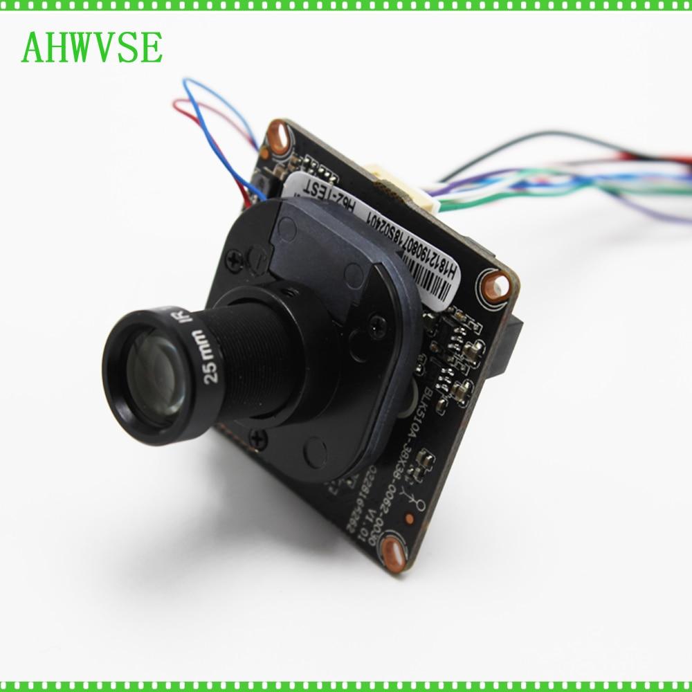 AHWVSE HD 1920*1080P 2MP IP Camera module Board XMEYE ONVIF IRCUT DIY CCTV Camera Surveillance with 3mp 25mm LensAHWVSE HD 1920*1080P 2MP IP Camera module Board XMEYE ONVIF IRCUT DIY CCTV Camera Surveillance with 3mp 25mm Lens