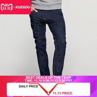 Spring Mens Denim Pants Spliced Blue Color Pockets Casual For Man's Wear Slim Fit Zipper New Jeans Male Brand Long Trousers 2382