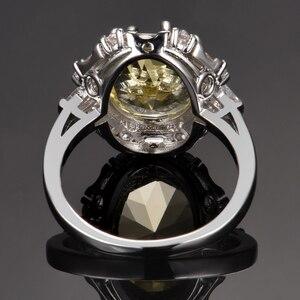 Image 4 - Nasiya נוצר סיטרין חן טבעות לנשים אמיתי 925 סטרלינג כסף תכשיטי טבעת יום נישואים Paty מתנה סיטונאי