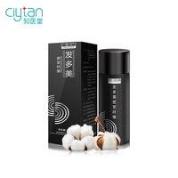 ciytan Hair Thickening Fiber Keratin Black Hair Building Styling Powder Hair Loss hair fiber 25g Black