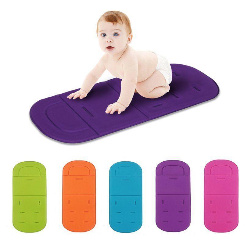 Baby Stroller Seat Liner Pram Cushion Padding Crawl Pushchair Car Seat Mat Cover Stroller Accessories