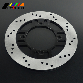 Motorcycle Rear Steel Brake Disc Rotor For KAWASAKI ZXR400 ZX-4 ZR400 ZZR400 ZR550 ZZR600