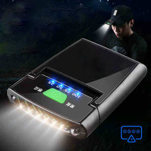 Налобный фонарь на клипсе с 6 светодиосветодиодный датчиком