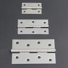 Hot Sale! 2pcs Cabinet Drawer Door Stainless Steel Butt Hinges 2″/3″/4″ Length
