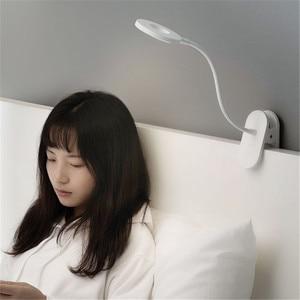 Image 5 - מקורי Yeelight 5W LED USB נטענת קליפ שולחן שולחן מנורת עין הגנה מגע דימר 3 מצבי קריאת מנורת עבור שינה