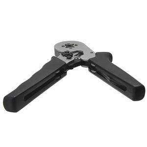 Image 5 - Terminal Crimper samonastawny AWG24 10 szczypce zaciskowe wielofunkcyjny przewód zasilający narzędzie do zaciskania końcówek czarne narzędzia ręczne