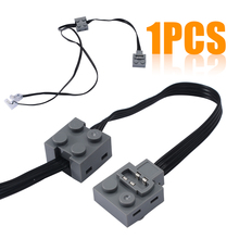 New Technic Power Function 8870 LED Light Link Line Cable For Lego Train Vehicle 37CM