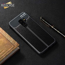 KISSCASE Retro Leather Case for Samsung Galaxy J5 J7 J3 A3 A5 2017 2016 Soft PU Leather Phone case for Samsung J4 J6 A8 A6 2018(China)