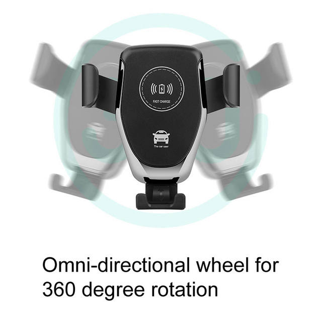 10W QI Wireless Fast Charger Car Mount Holder Stand For iPhone XS Max Samsung S9 For Xiaomi MIX 2S Huawei Mate 20 Pro Mate 20 RS 4