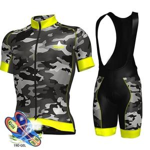 Image 3 - 2019 Team Schaatspak Pro Wielertrui 19D Gel Bike Shorts Pak Mtb Ropa Ciclismo Vrouwen Zomer Fietsen Maillot Culotte Kleding