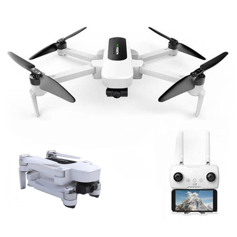 Hubsan H117S Zino GPS 5.8G 1 KM FPV avec caméra 4 K UHD 3 axes cardan RC Drone quadrirotor aéronef sans pilote (UAV) RTF GPS + GLONASS hélicoptères jouets