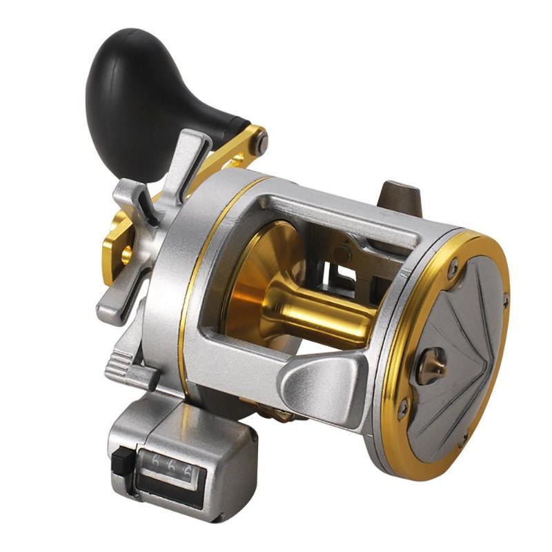 2000 3000 4000 Digital Display Baitcasting Vessel Fishing Reels Stainless steel Casting Trolling Sea Fishing Wheel