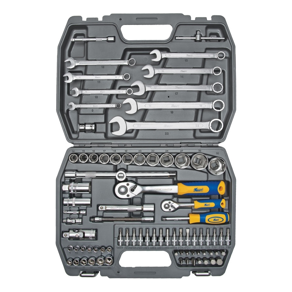 Hand tool set KRAFT CT 700305 82