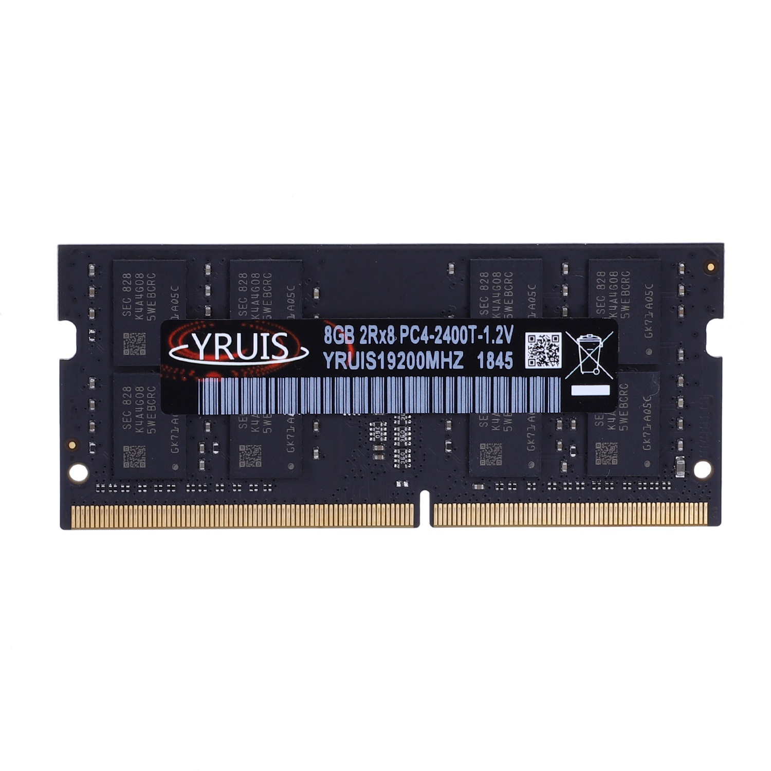 Yruis <font><b>Ddr4</b></font> 4G <font><b>8Gb</b></font> 2400Mhz Ram Sodimm Laptop Memory Support <font><b>Memoria</b></font> <font><b>Ddr4</b></font> <font><b>Notebook</b></font>(1.2V) image