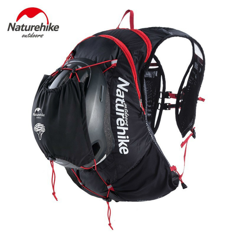 Naturehike Outdoor Hydration Unisex Nylon Running Bags Lightweight Breathable Cycling Hiking Water Backpack