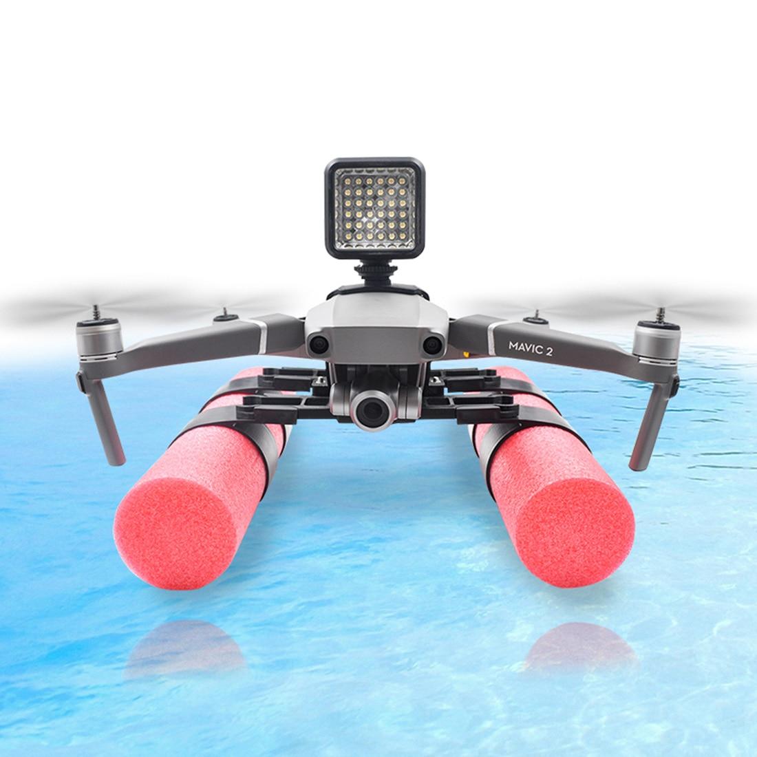 extended-landing-gear-skid-training-floating-bobber-fixer-set-for-dji-font-b-mavic-b-font-2-pro-font-b-mavic-b-font-2-zoom-with-buoyancy-rod-holder