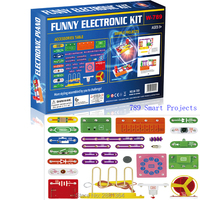 Smart Educational Electronics Discovery Kit,789 Projects circuits DIY Building Blocks Funny Electric Circuits Science toys W789