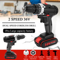 Cordless Drill Mini Wireless Power Driver DC Lithium Ion Battery Rechargeable Handheld Drills Home DIY Electric Power Tools