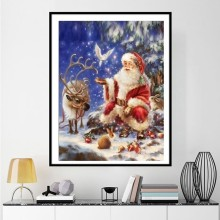 Santa Claus DiamondArt Christmas Home Decor