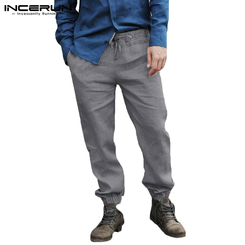 Streetwear Harem Pants Men Baggy Trousers Sweatpants Loose Fitness Drawstring Hiphop Men Casual Pants 5XL Khaki Chinos Hombre