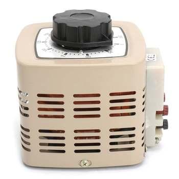 Variable Voltage Power Supply   AC Variable Digital Voltage Adjustable Regulator Transformer 2A 500w 220v Single-phase 0-250v TDGC2-0.5KVA Power Supplies