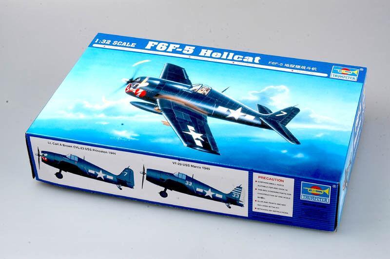 Trumpeter 1//32 02259 F6F-5N Hellcat