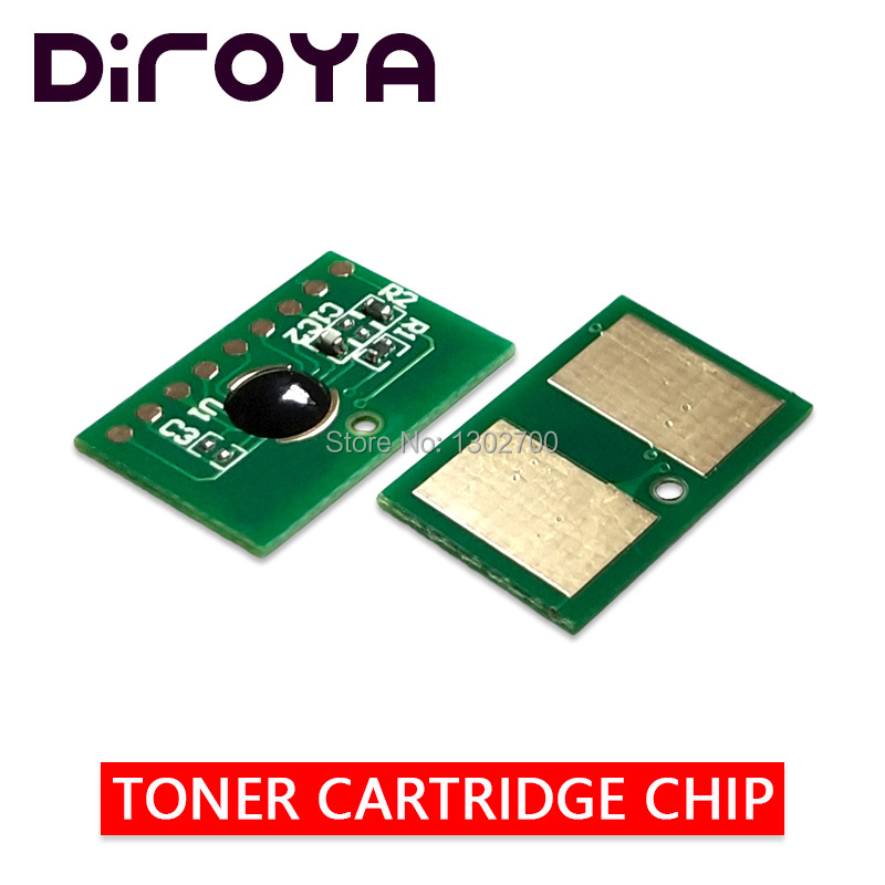 4PCS EUR 7K/6K 46490608 46490607 46490606 46490605 toner cartridge chip For OKI C532 C542 MC563 MC573 C532dn C542dn MC 563 573dn-in Cartridge Chip from Computer & Office    1
