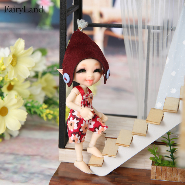 FreeShipping Fairyland realpuki Sira bjd 1/13  body model  baby girls boys dolls eyes High Quality toys shop  resin anime
