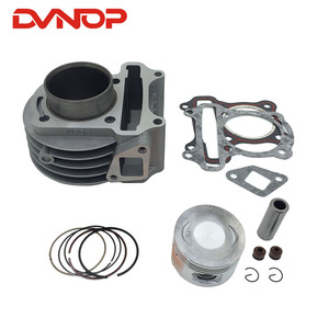 47mm Big Bore Kit Cylinder Piston Rings for GY6 50cc 60cc 80cc 4-Stroke Scooter Moped ATV with 139QMB or 139QMA enginE(China)