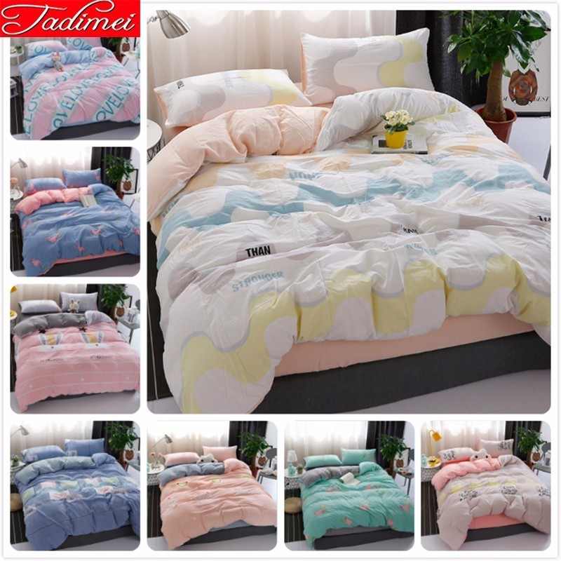 Adult Kids Child Soft Cotton Duvet Cover Bedding Set New Fashion Bed Linen Single Twin Full Queen King Size Bedspreads 150*200cmAdult Kids Child Soft Cotton Duvet Cover Bedding Set New Fashion Bed Linen Single Twin Full Queen King Size Bedspreads 150*200cm