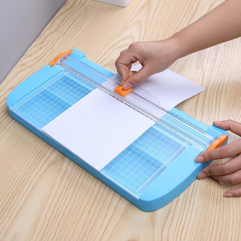 VODOOL DIY Portable A5/A4/A3 Plastic Paper Cut Precision Photo Scrapbooking Cut Tools Cutting Machine Office School Supplies