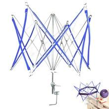 Yarn Wool Operated Swift Craft Knitting Umbrella Winder Thread Holder String