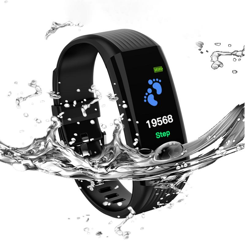 Smart Sports Bracelet Waterproof Activity Tracker Smart Watch Color Screen Smart Band Pedometer Watch For Kids Women MenSmart Sports Bracelet Waterproof Activity Tracker Smart Watch Color Screen Smart Band Pedometer Watch For Kids Women Men