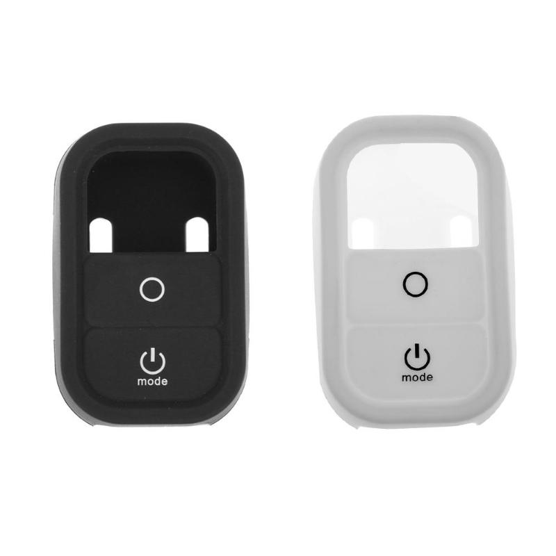 Camera <font><b>WiFi</b></font> <font><b>Remote</b></font> Control Silicone Case Protective Case Cover Protective Sleeve For <font><b>GoPro</b></font> Hero 3/3+ 4 <font><b>Remote</b></font> Control Black image