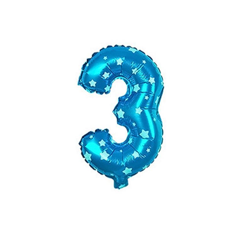 32 Inch Balloon Decoration Party Supplies Mylar Number Digital Aluminium Foil Balloon for Birthday Wedding Anniversary