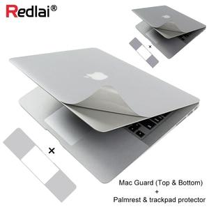 Redlai corpo inteiro palmguard adesivo para macbook pro 16 a2141 ar 13 2020 a1932 a2289 retina exibição palmrest trackpad protetor