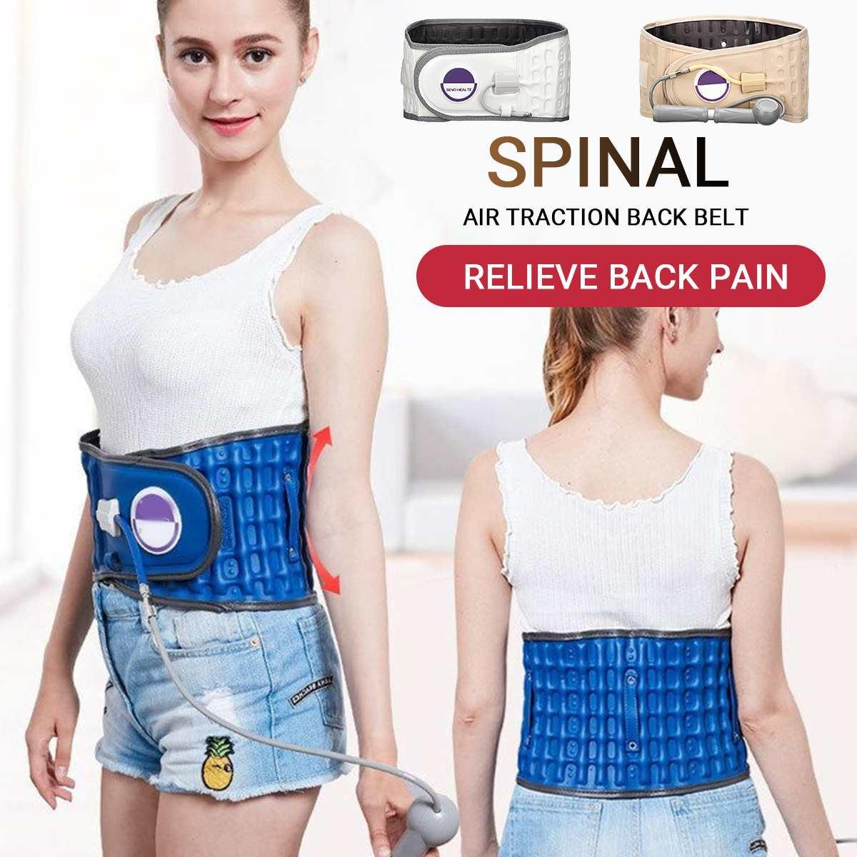 Ceinture de soulagement du dos ceinture de soutien ceinture de soutien lombaire unisexe masseur soulagement de la douleur retour du corps soins de santé Traction dos attelle de taille