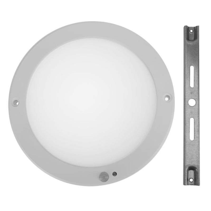 LED Night Light Round PIR Motion Sensor LED Panel Light Ultra Thin Downlight Mounted Ceiling Recessed Light Down Lamp 15W 18W pir infrared motion sensor led tube light 220v ceiling lamp radar motion sensor 12w 15w 18w smd5730