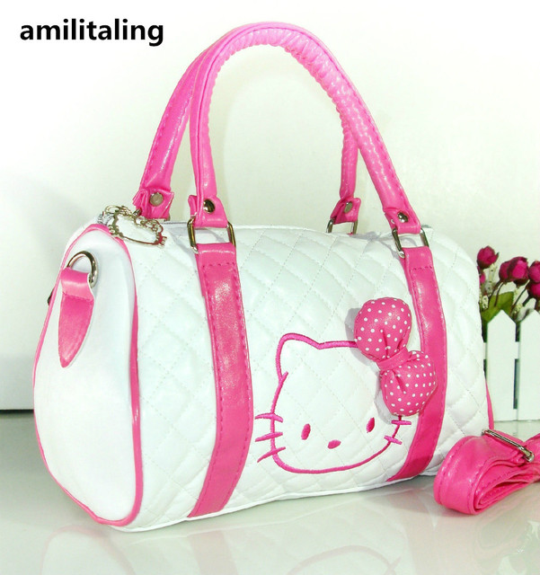 ffcbe5938 New Hello Kitty Bag with Shoulder Strap Purse YEY 48064P-in Shoulder ...
