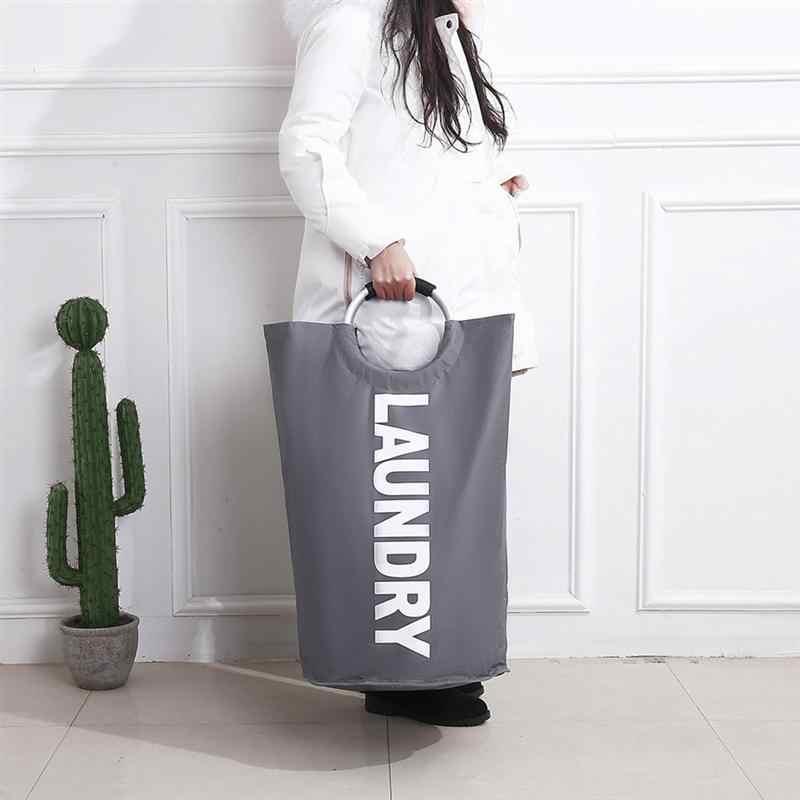 ONÇA 1pc Cesto de roupa suja Dobrar Roupas À Prova D' Água Cesto de roupa suja Roupa Suja Cesto de roupa Saco De Lavagem Organizador para o Banheiro