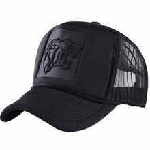 Summer Mesh Black Leopard Print Curved Baseball Caps For Women Men Snapback Hats Casquette Trucker Net Cap Sun Visor Hip Hop Hat(China)