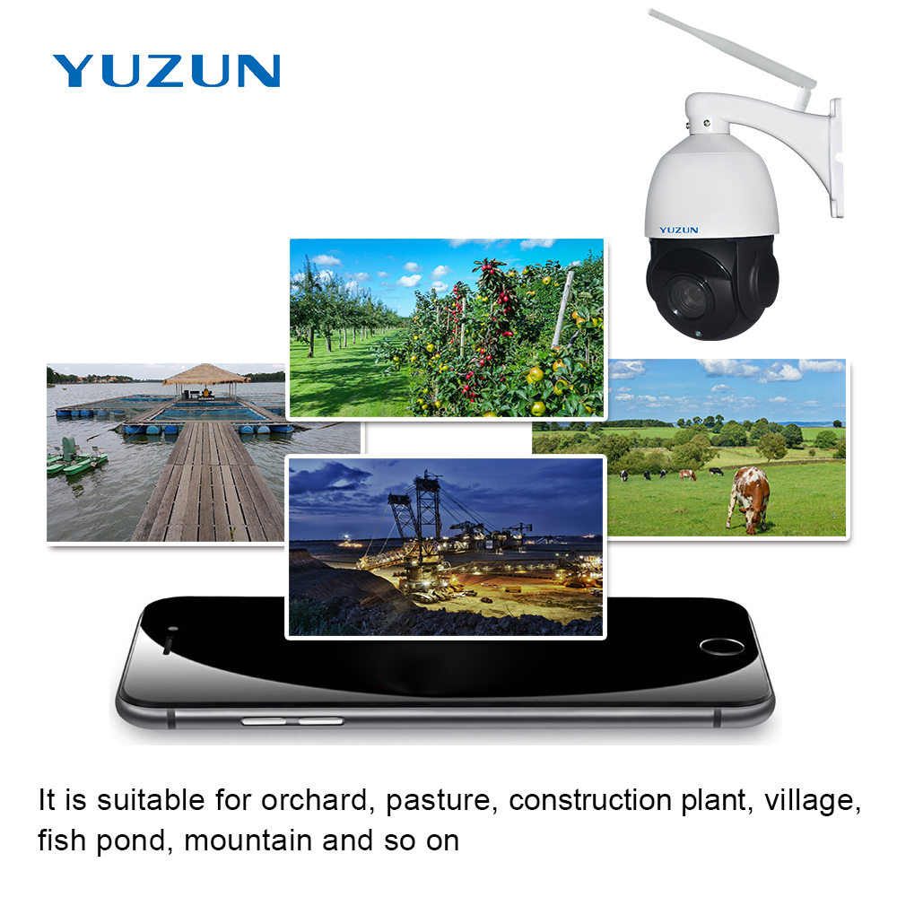 Купить с кэшбэком 3g 4g ip camera with sim card 355 degree outdoor security camera wireless surveillance camera plug and play in no internet place