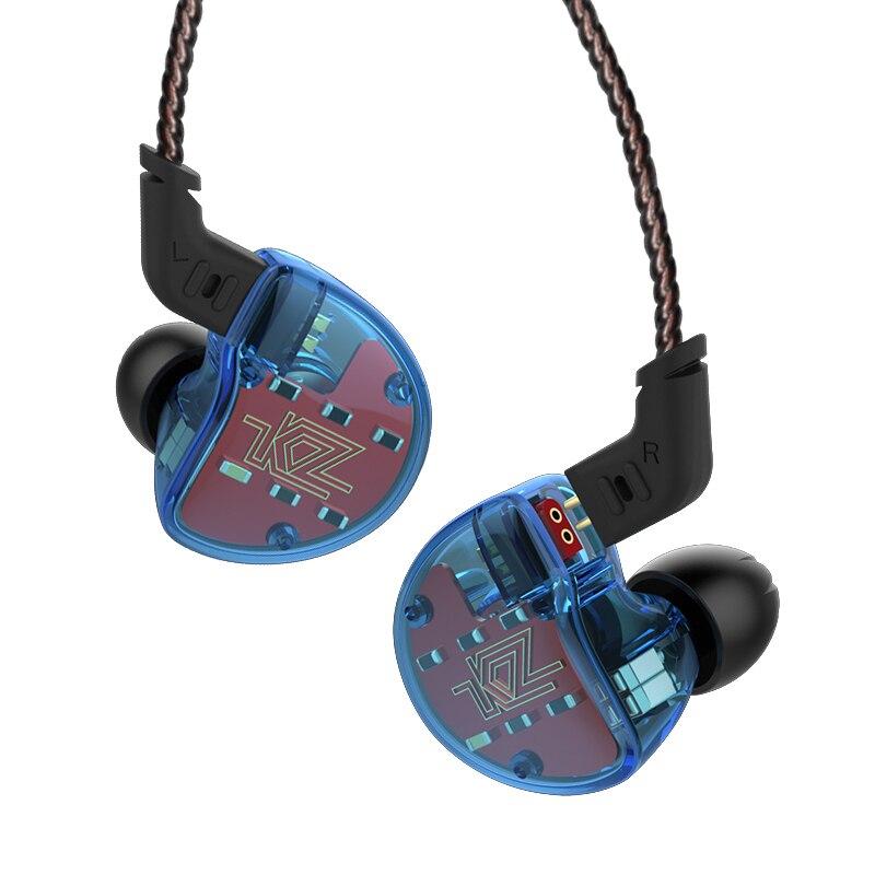 KZ ZS10 4BA с одной динамический гибрид в ухо наушники Hi-Fi монитор DJ наушники для бега 5 привод гарнитуры наушники