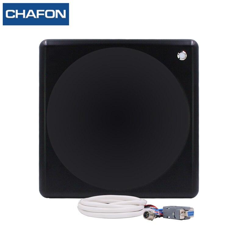 CHAFON 10 m IP65 R2000 Impinj Rfid Reader 902 ~ 928 Mhz RS232 RS485 WG26 led indicador de interface SDK livre para a gestão de estacionamento