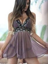 Hot Lace Lingerie Underwear Sleepwear BabyDoll Dress SF